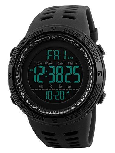 Completamente sintetico orologi Nastro Rosso Impermeabile 24 mm