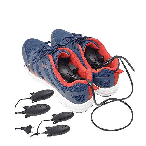 081 Store - 2x Scalda e asciuga scarpe elettrico essicatore toglie umidità deumidificatore anti odore