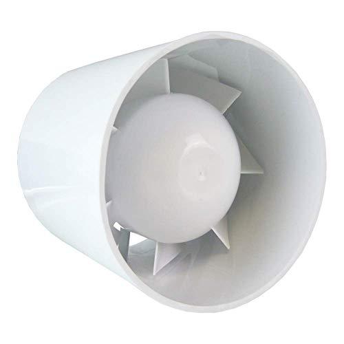 """100mm (4 """") bagno cucina domestica condotto assiale inline ventilazione ventilatore extracctor 100 m3 / h"""