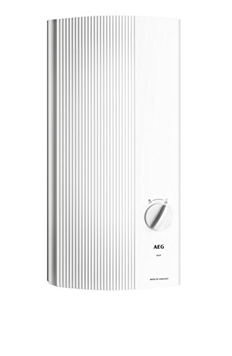 AEG 228841 DDLE 21 - EASY, Scaldabagno elettronico 21 kW, 400 V, colore: Bianco