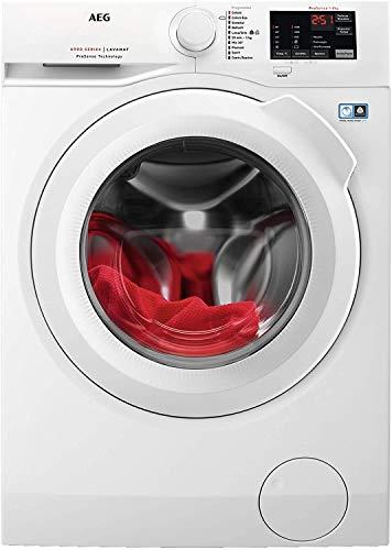 AEG L6FBI841 lavatrice Libera installazione Caricamento frontale Bianco 8 kg 1400 Giri/min A+++