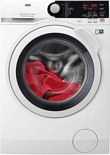AEG L7FBE841 Lavabiancheria Carica Frontale 8kg 1400Giri/min A+++-30% Bianco lavatrice