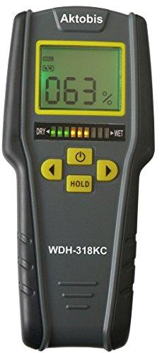 Aktobis Indicatore di Umidità, Umidificatore, Umidificatore Materiale WDH-318KC incl. batteria di qualità 9 V
