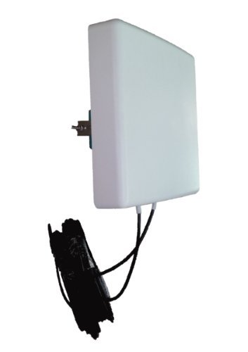 Antenna 4G LTE 5G MIMO Direzionale 700/800/900/1800/2100/2600Mhz LowcostMobile 2x10m nero Connettore SMA Cavo LMR200 per Huawei B525, B528, B715, B618, E5186, B310, B315, Asus, TP Link ...