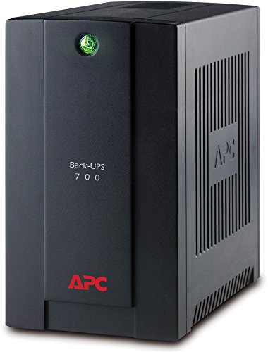 APC Back-UPS BX - BX700U-GR - Gruppo di continuità (UPS) Potenza 700VA (AVR, 4 Uscite Schuko, USB, Shutdown Software)