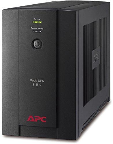 APC Back-UPS BX - BX950U-GR - Gruppo di continuità (UPS) Potenza 950VA (AVR, 4 Uscite Schuko, USB, Shutdown Software)