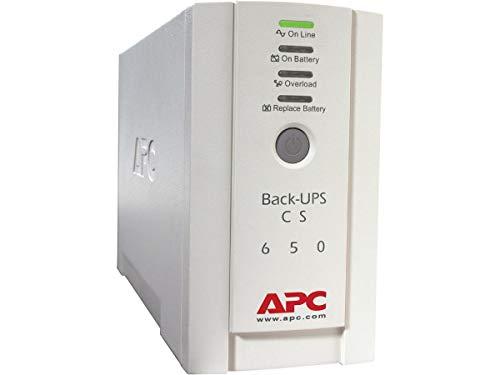 APC Back-UPS CS - BK650EI - Gruppo di continuità (UPS) 650VA (4 Uscite IEC, Prese protette)