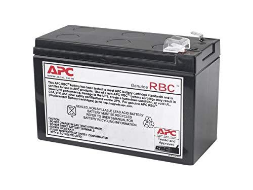 APC by Schneider Electric APCRBC110 Pacco Batterie Sostitutive per UPS BR550GI, BX700UI, BX700U-GR