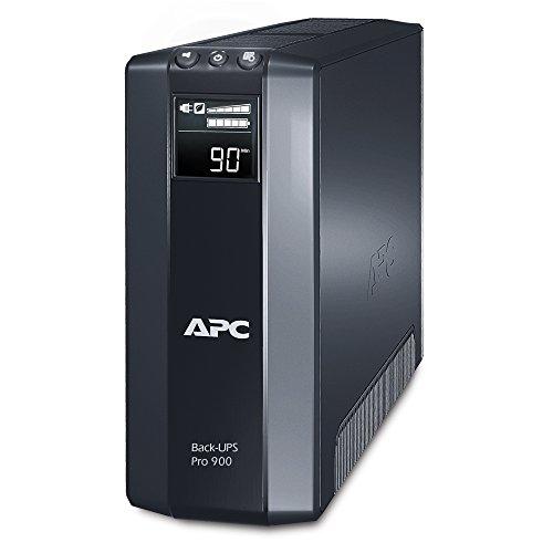 APC by Schneider Electric BR900GI Gruppo di Continuità UPS, 900 VA, AVR, 8 Uscite IEC-C13, USB, Shutdown Software, Risparmio Energetico