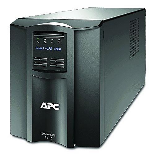 APC by Schneider Electric SMT1500IC Gruppo di Continuità UPS, 1500 VA, Connesso al Cloud, 8 Uscite IEC-C13