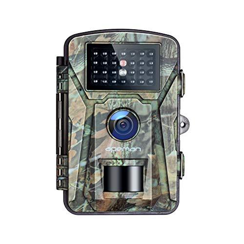 APEMAN Fotocamera Caccia Fototrappola 26PCs 940nm IR LEDs Macchine Fotografiche da Caccia Visione notturna 65ft/20m Impermeabile IP66