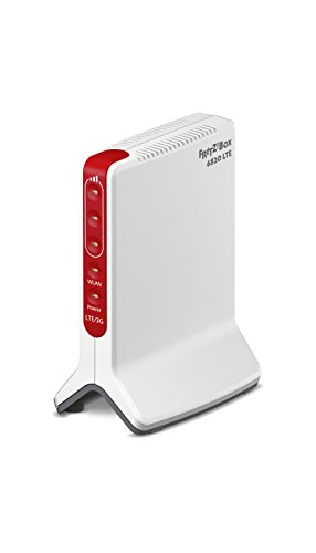 AVM FRITZ!Box 6820 LTE International - Modem Router 4G/3G, slot per SIM, WiFi N 450 Mbit/s, 1 porta LAN Gigabit, interfaccia in Italiano