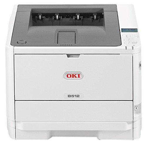 B512dn Stampante con tecnologia LED, A4, monocromatica, fronte/retro, 45 pagine/minuto