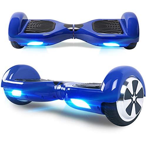 """BEBK Hoverboard 6.5"""" Smart Self Balance Scooter Elettrico Autobilanciato con LED, 2 * 350W Motore"""