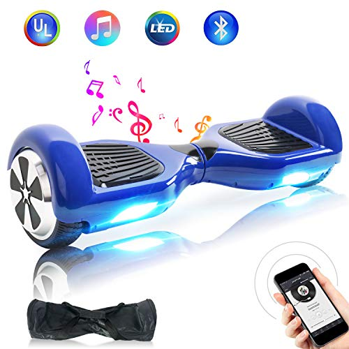 "BEBK Hoverboard HX310,Ruote 6.5"" Self Balancing Board con LED Induttivi,Batteria (N1-04-BY03)"