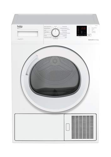 Beko DRX732W - Asciugatrice a Condensazione con Pompa di Calore (7 Kg, Classe A+++), Bianco