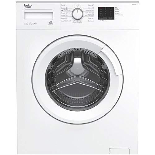 Beko WTX51021W, Lavatrice Slim, 5 kg Senza installazione