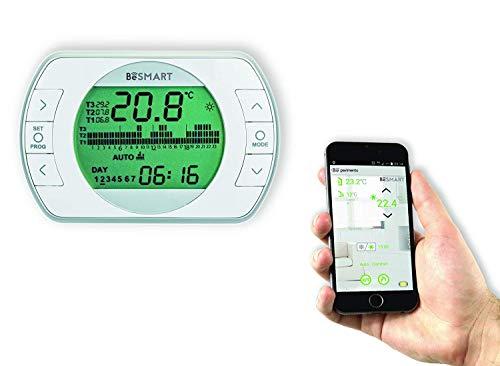 BeSMART Termostato Wifi per Smartphone retroilluminato