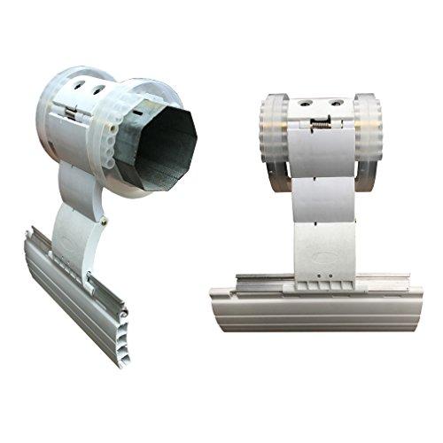 Blocco di sicurezza antisollevamento per tapparelle e saracinesche con asse 60 mm