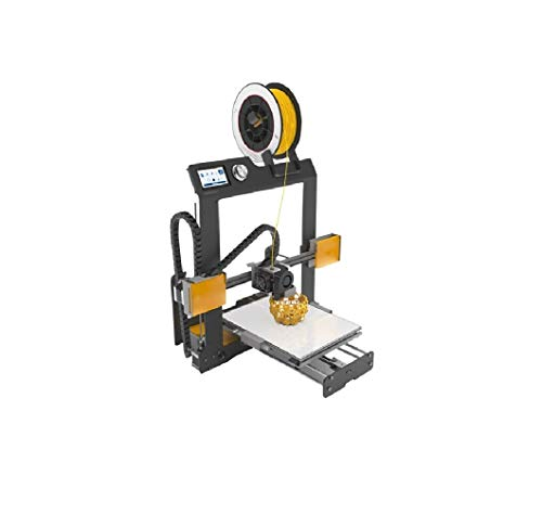 BQ H000187 Hephestos 2 Stampante 3D, Spina F/EU, Grigio/Giallo