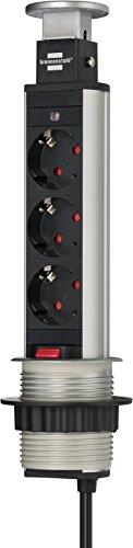 Brennenstuhl 1396200003 Multipresa a Torre, 3500 W, 250 V