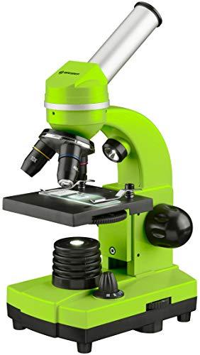 Bresser - Microscopio per studenti BIOLUX SEL con supporto per smartphone, accessori e sistema di zoom Barlow, per bambini, principianti e adulti