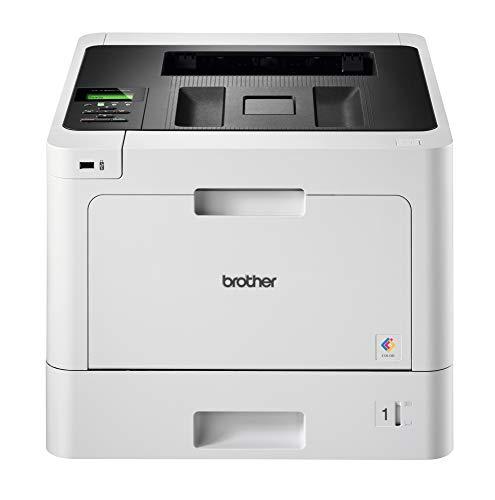 Brother HL-L8260CDW Stampante Laser a Colori, Alta Velocità fino a 31 ppm, con Rete Cablata, Wi-Fi e Wi-Fi Direct, Stampa Fronte - Retro, da USB