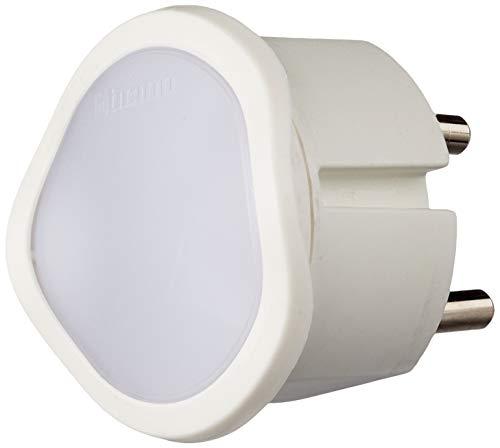 BTicino S3625DA Luce On-off Manuale con Funzione Crepuscolare Automatica, 220 V, Bianco