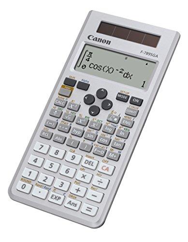 Canon F-789SGA, 6467B001 Calcolatrice Scientifica Ecologica Antibatterica, Grigio