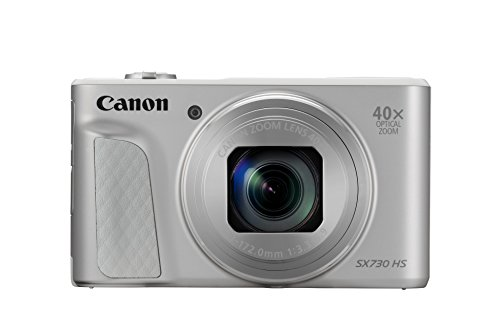 Canon PowerShot SX730 HS Fotocamera Digitale Compatta, Argento