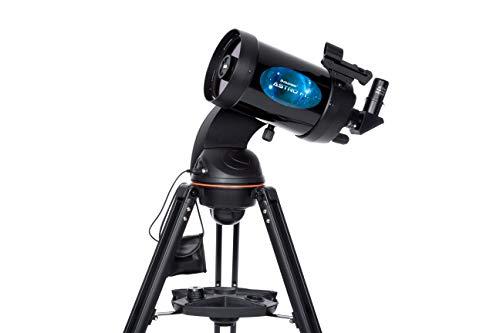 Celestron ASTRO fi–Telescopio Astronómico, 125mm di apertura, 1250di distanza focale, F/10di astrografo) colore: nero
