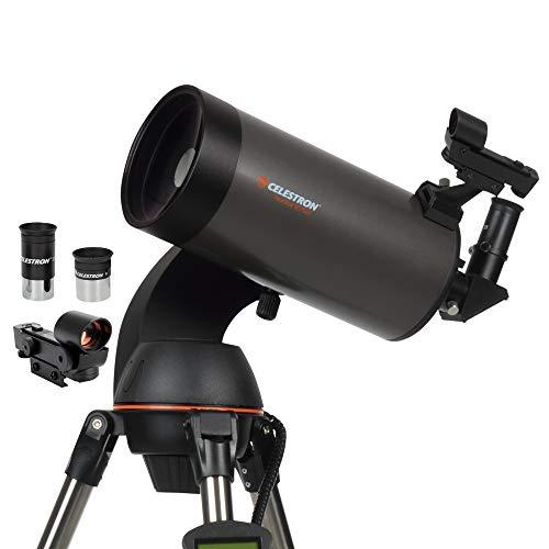 Celestron NexStar 127 SLT Telescopio, Acciaio, Tubo Ottico Maksutov, Nero/Antracite