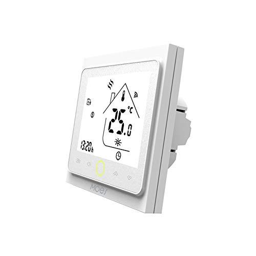 Contrôleur de température MOES Smart Thermostat WiFi Smart Life/Télécommande Tuya APP pour le chauffage de chaudières à eau gaz 5 + 1 + 1 programmable