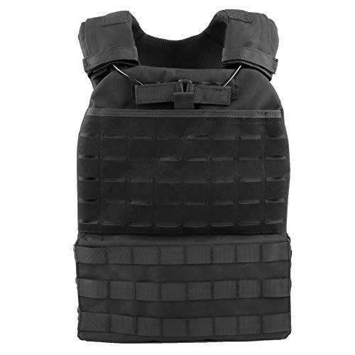 CS Army Vest Multi-Funzionale Tactical Airsoft Vest Gilet tattico Traspirante e Quick Release-(BK)