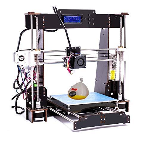 CTC Kit stampante 3D fai da te,Versione aggiornata Prusa I3,stampanti 3D desktop,supporto per scheda SD,Formato di stampa 220x220x240mm