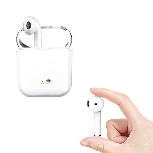 Cuffie Bluetooth senza fili, Microfono stereo con microfono integrato Sweatproof a cancellazione di rumore per Android, Samsung, Huawei e altri dispositivi Android