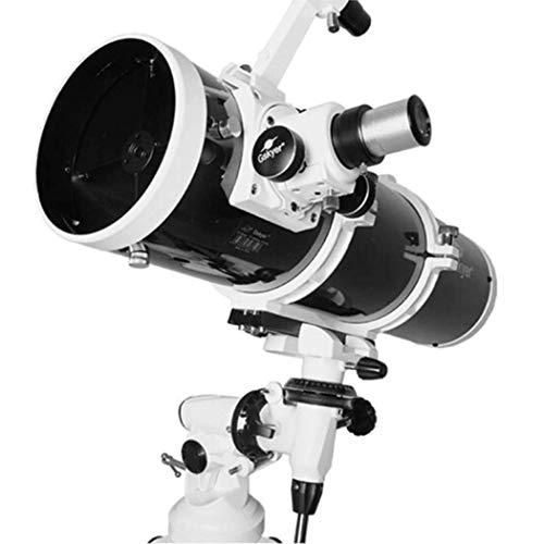 Drohneks Telescopio astronomico, telescopio Professionale per osservazione stellare HD 130EQ ad Alta Potenza, telescopio monoculare Zoom con treppiede