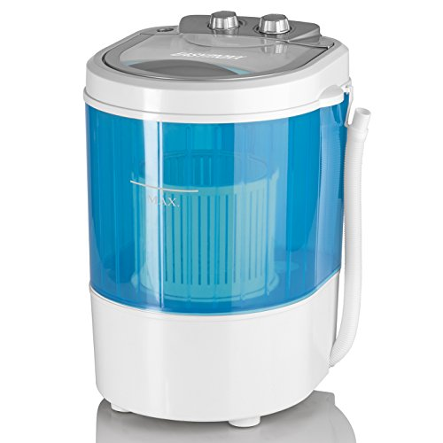 EASYmaxx 07475200125 lavatrice Portatile Caricamento dall'alto Blu, Bianco 3 kg