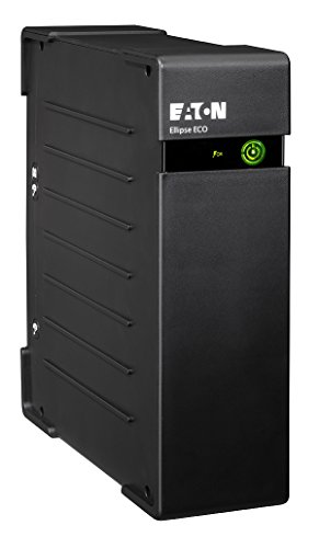 Eaton EL800USBDIN Ellipse Eco 800 USB DIN, Gruppo di continuità, Nero