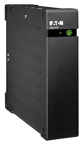 Eaton Ellipse ECO 1200 USB DIN - Gruppo di continuità (UPS) 1200 VA con protezione da sovratensioni (8 uscite Schuko)