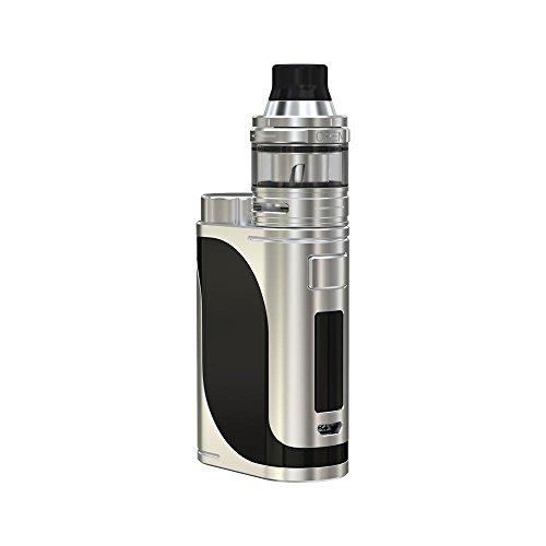 Eleaf Istick Pico 25 Kit 85W con Ello Tank TC Kit (ARGENTO e NERO) con verifica Etichetta E-Sigarette Senza Nicotina