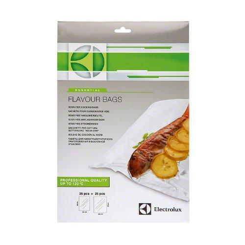 Electrolux Essential 9029793941 SousVide - Sacchetti per Cottura sottovuoto - Due Misure -25+25 pz