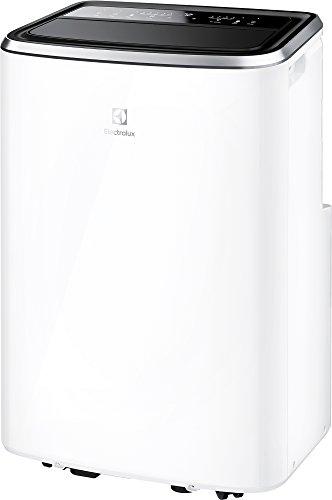 Electrolux EXP26U338CW Condizionatore d'aria portatile, 10.874 BTU, Gas R290, Self Evaporative System, 1000 W, 45 Decibel, Bianco