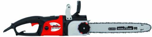 Elettrosega GRIZZLY EKS 2440 QT - 2400 Watt - Barra OREGON da 40 cm con Tensionatore Catena
