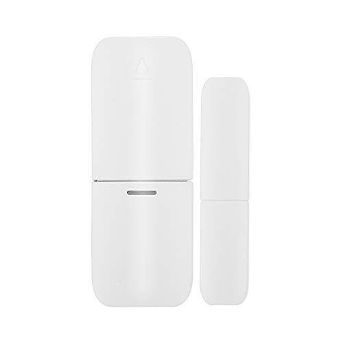 Festnight Sensore per Porta Magnetica Wireless 433 MHZ Allarme Antifurto Rileva Allarme Sensore Allarme Finestra Rilevatore di Intrusioni Wireless di Automazione Domestica