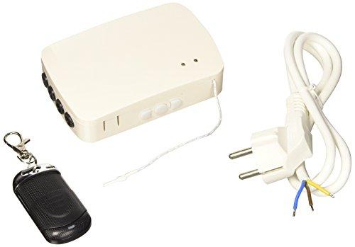 FP-Tech FP-OUTDOOR Centralina di Gestione Senza Fili Adatta a Motori Elettrici per Tapparelle, Bianco