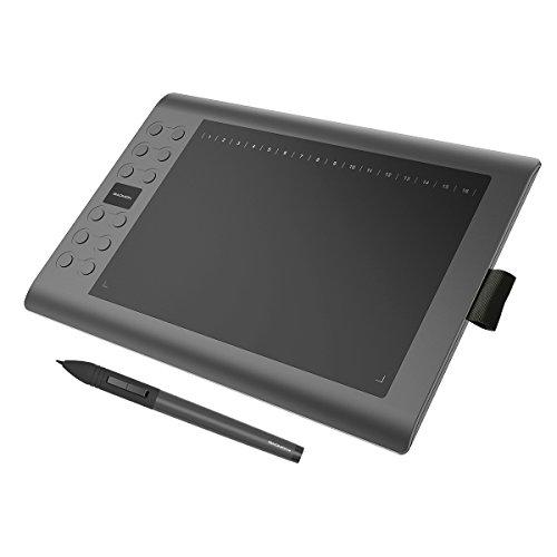 GAOMON M106K - Professionale 10 x 6 Pollici Disegno Digitale Penna Tavoletta Grafica con Senza Fili Stilo