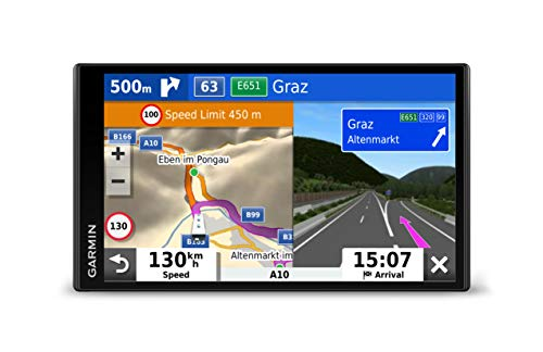 "Garmin Camper 780 navigatore 17,6 cm (6.95"") Touch screen TFT Portatile Nero 239,6 g"