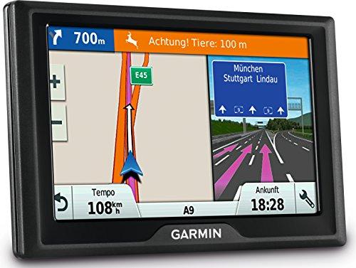 """Garmin Drive 40 CE LMT Navigatore da 4.3"""" con Mappa Italia e Europa Centrale, Aggiornamento a Vita e Infotraffico, Nero"""
