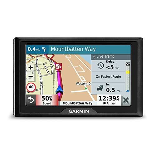 """Garmin Drive 52 EU LMT-S Navigatore 5"""", Mappa Europa Completa, Aggiornamento a Vita e Servizi Live via Bluetooth, Infotraffico Live via Smartphone"""